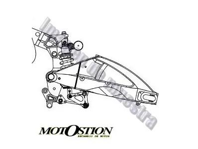 Bombin embrague KTM ADVENTURE 640 1998-2007 moto