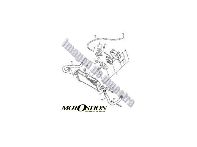 Eje basculante TRIUMPH SPRINT 900 1993-1998 desguace motos