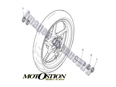 Cdi 03 YAMAHA MAJESTY 250 1996-1998 desguace motos