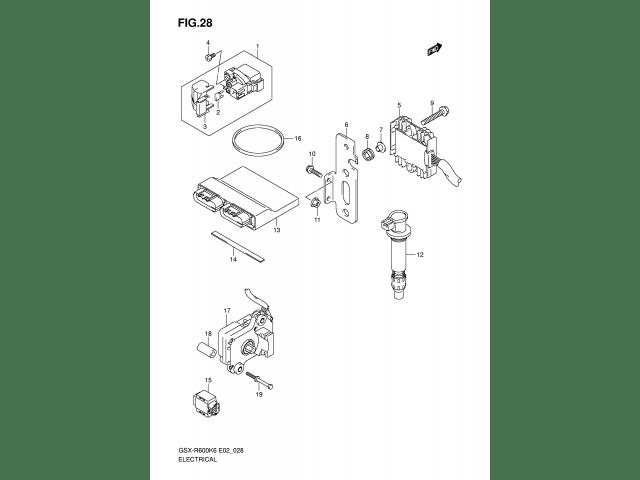 Regulador Nuevo DZE Suzuki GSX-R, DL, Bandit...