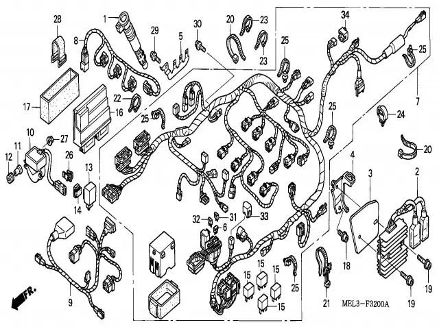 Honda Cbr 600 F4i Fuse Box