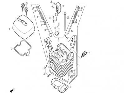 sensor de temperatura motor Daelim roadwin 125r fi 125