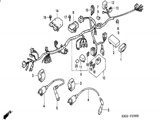 Cdi Honda Cb 250 1992-2005