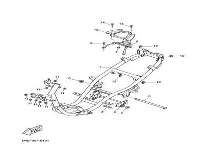 Asidero colin Yamaha Aerox 50 1997-2006