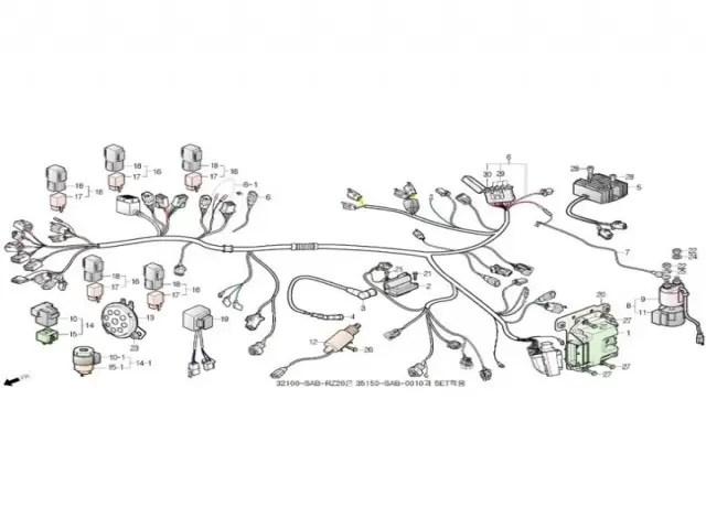 Rele de intermitencia Daelim S3 125 2010-2013