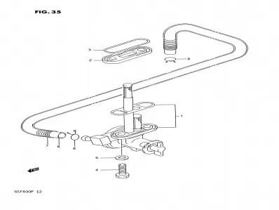 Grifo gasolina Suzuki Bandit 400 1991-1993