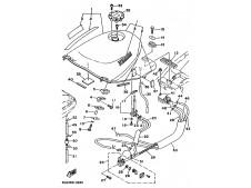 Recambio de moto usado Yamaha tdm 850 1991-1995 (2
