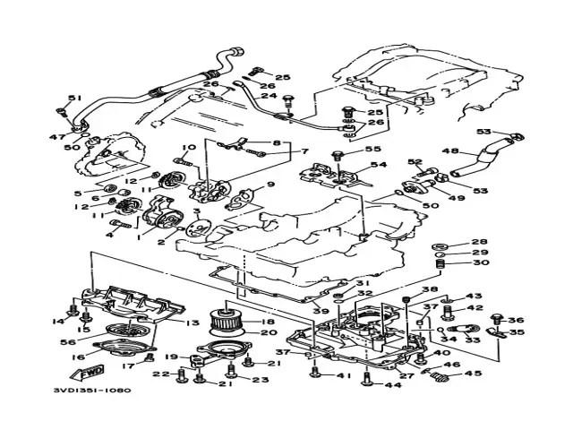 Manguitos aceite Yamaha Tdm 850 1991-1995