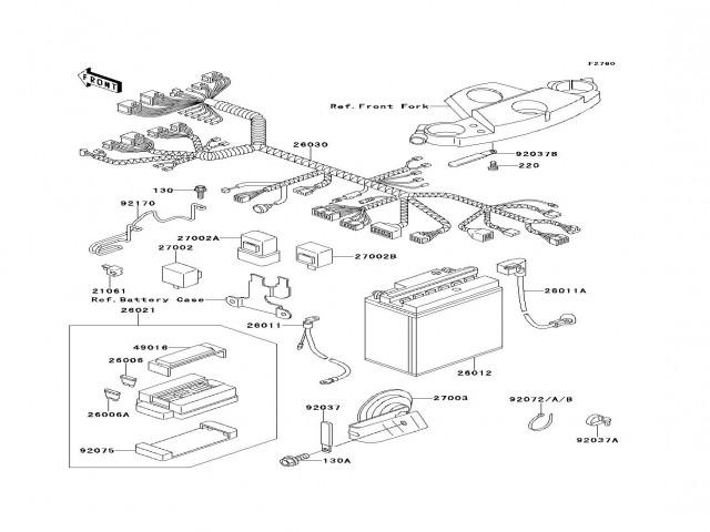 Rele de intermitencia Kawasaki Zzr 600 1990-1993