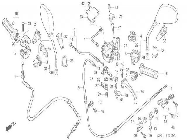 Retrovisor izquierdo Honda Dylan 125 2002-2008