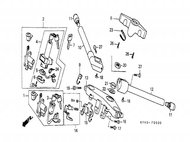 Contrapeso Honda Nsr 125 1990-1993