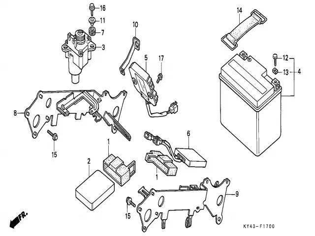 Cdi valvulas Honda Nsr 125 1990-1993
