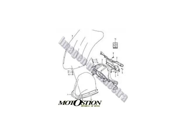 Radiador agua SUZUKI GSX 750 R 750 2000-2003 despiece de moto