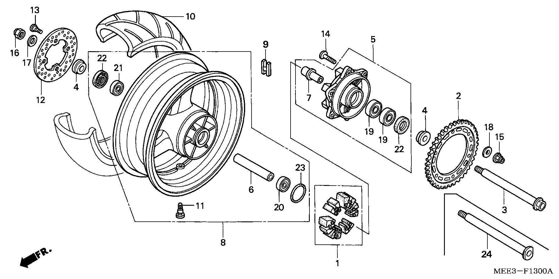 Honda Cbr 600 Wiring Diagram