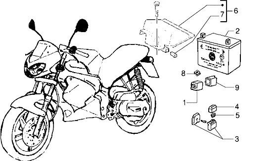 Intermitente trasero izquierdo Gilera Dna 50 2000-2007