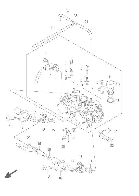 Suzuki An 650 Burgman 2000 2010 Online Service Repair Manual