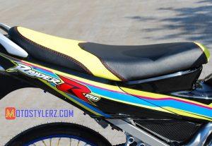 Modifikasi Suzuki Satria FU 2014 : Jok-Desainnya Dinamis