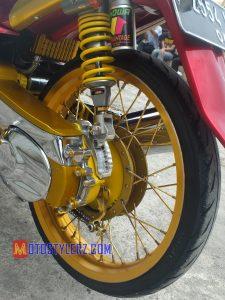 Modifikasi Yamaha Mio 2007 : Roda-Pilih Semi Lebar
