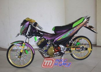 Modifikasi Satria FU-Fashion Racing Style