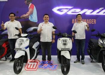 Launching Honda Genio-Diresmika Lerry Gunawan, Danny Budiman & Ferdy Sukmawidjaja(Petinggi PT DAM)