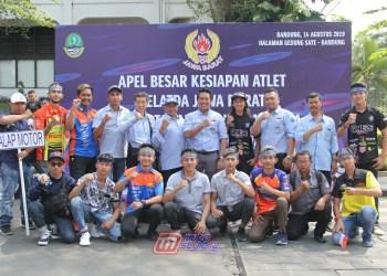 Pengprov IMI Jabar Bareng Calon Atlit Cabor Balap Motor-Kompak & Semangat Beprestasi Di Ajang PON XX Papua