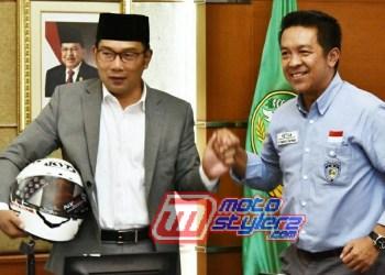 Ridwan Kamil & Fachrul Sarman-Saling Support Dalam Memajukan Ekstra Otomotif Jabar