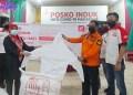 Perwakilan Ikatan Motor Honda Makassar Menyalurkan Bantuan APD & Perlengkapan Pendukung Kesehatan Melalui Tim Satgas Covid-19 di kota Makassar