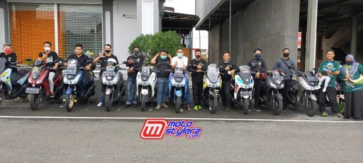 Yamaha Lexi Community Indonesia (YLCI) dalam aktivitas Ramadhan Berbagi Berkah (7)