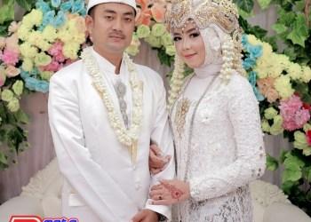 Ipey Olala & Ainun-Resmi Dalam Ikatan Sakral Pernikahan