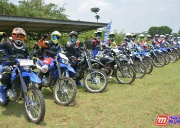 Para Peserta-Antusias Mengikuti Fun Riding Experience Bersama Yamaha WR 155 R