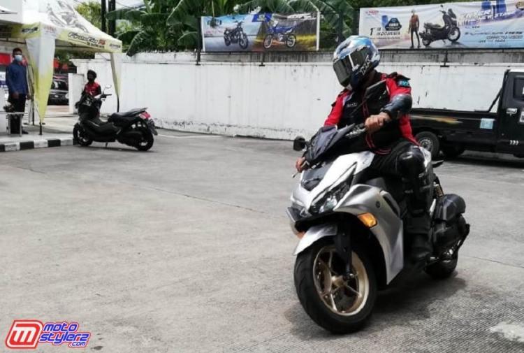 Perwakilan Media-Berkesempatan Menjajal All New Aerox 155 Connected di area Yamaha DDS Jawa Tengah & Yogyakarta-min