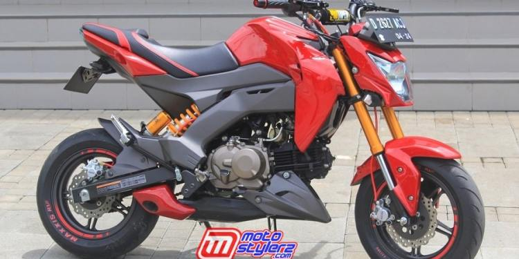 Kawasaki Z125 Pro by OHS Modification