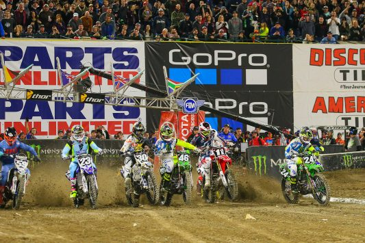 2018 Monster Energy Supercross Anaheim como ver