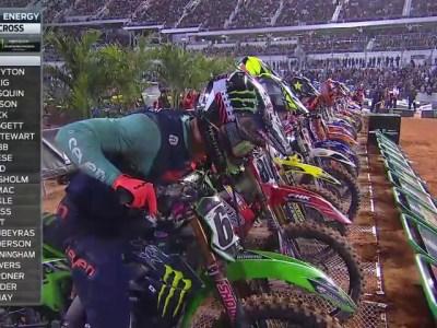 2018 Monster Energy Supercross Daytona 450 Video