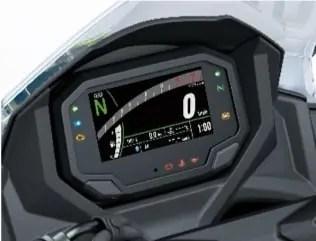 TFT display kawasaki ninja 650