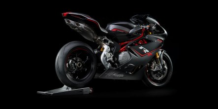 F4 RR The MV Agusta F4, breaking down the barriers of imagination. Encompassing cutting-edge technology and the lastest engine design, the F4 is the best yet. A Masterpiece, the top of the range F4RR contains unparalleled engineering solution and thoroughtbred excellence, ensuring total bike control and heart stopping performance: an inertial control platform with lean angle sensor, a redefined riding position, full ride-by-wire. Ohlins electronic suspension and steering damper as wells as GP spec titanium con rods, all with completely new graphics and colors