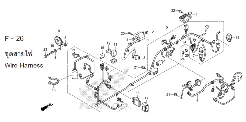 1982 Honda Cb750c Wiring Harness 1982 Honda CB750K Wiring