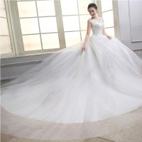 White Net Wedding Gown  Bridal Dresses