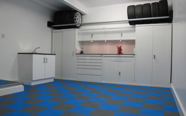 Garage Floor Tiles  UK manufactured interlocking garage