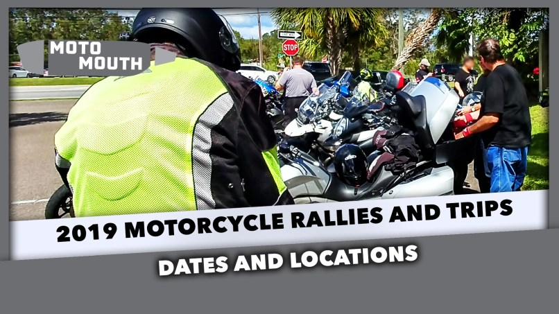 2019 Motorcycle Rallies Dates