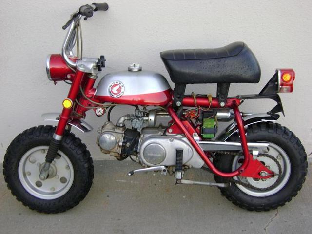 1972 Honda Z50 Wiring Diagram