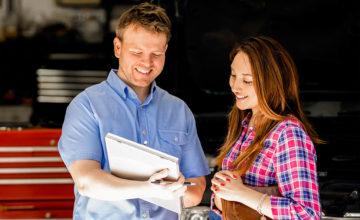 Mobile used car inspection