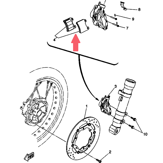 BREMBO Тормозные колодки 07BB19SA SINTER в магазине