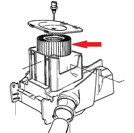 HFA7910 Воздушный фильтр для мотоцикла BMW R850, R1100