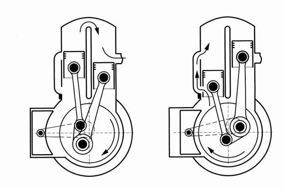 single stroke engine diagram