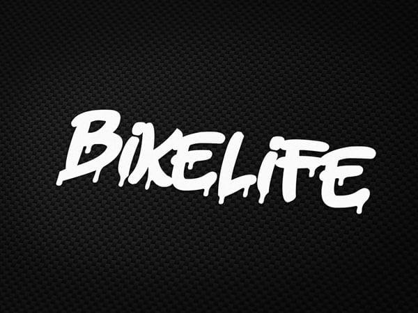 Bikelife Aufkleber von MotoWear Germany
