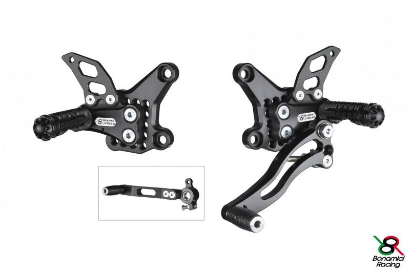 Bonamici Adjustable Billet Rearsets: Ducati 749/999