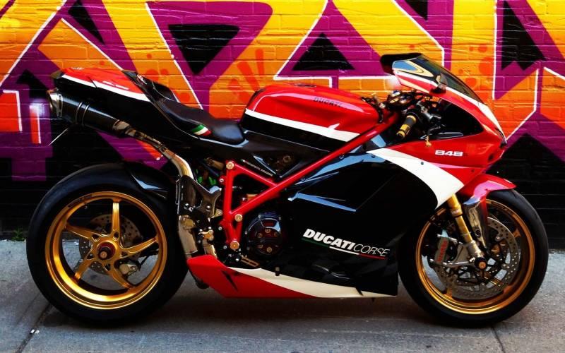 Oz Motorbike Piega Forged Aluminum Wheel Set Ducati