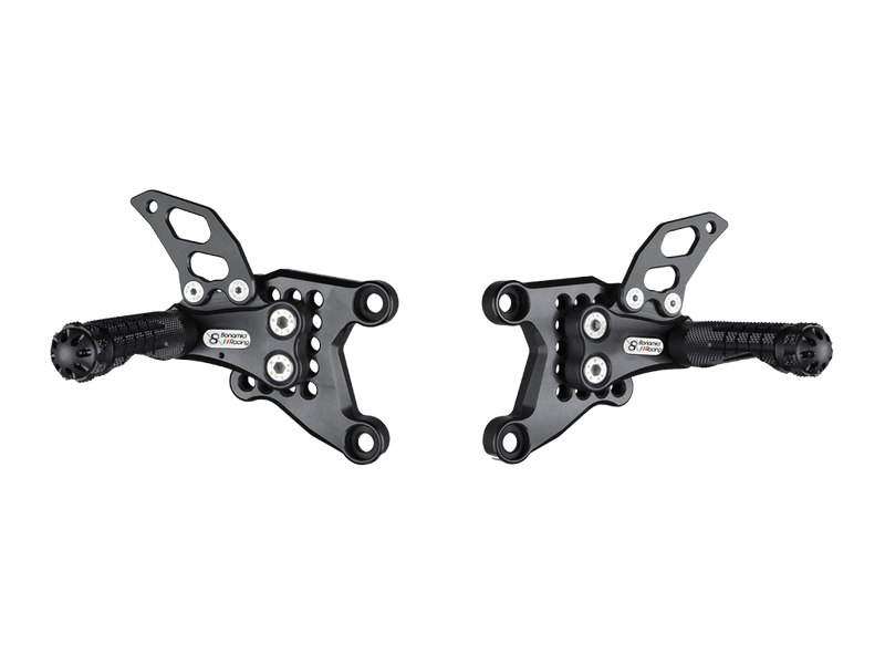 Bonamici Adjustable Billet Rearsets: APRILIA RSV 1000