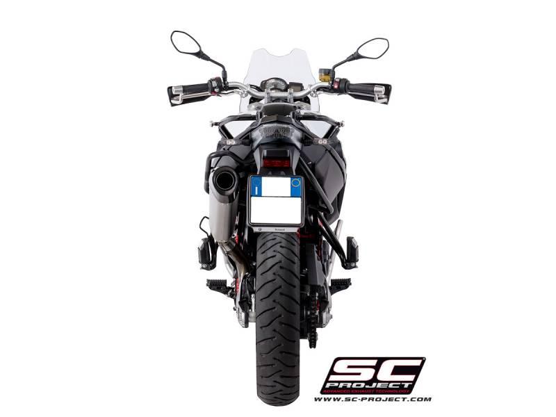 SC Project X-plorer Exhaust: BMW F800GS/Adventure '16-'18